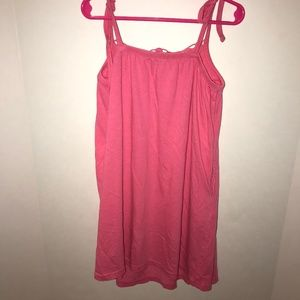 GAP Dresses - Pink Lace top Dress